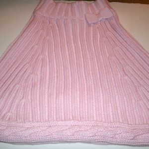 Gymboree Girl's Capelet Pink Bow Size 5-6 New